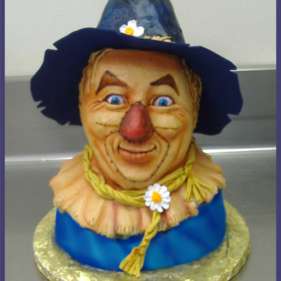 Scarecrow From Oz Cake