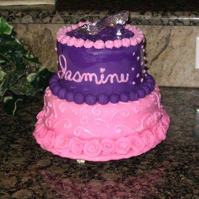 Marvelous Princess Jasmine Cake Decorating Photos Personalised Birthday Cards Petedlily Jamesorg