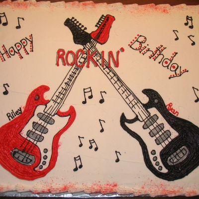 Для, с днем рождения открытка для рокера
