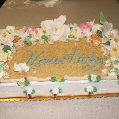 Hawiian Flowers on Cake Central