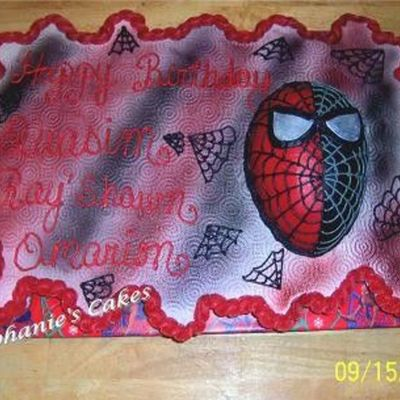 Spiderman Ccc (Quasim's 5Th B/d)