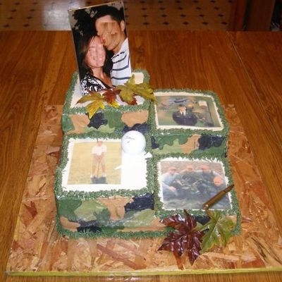 Camo Groomcake With Pictures