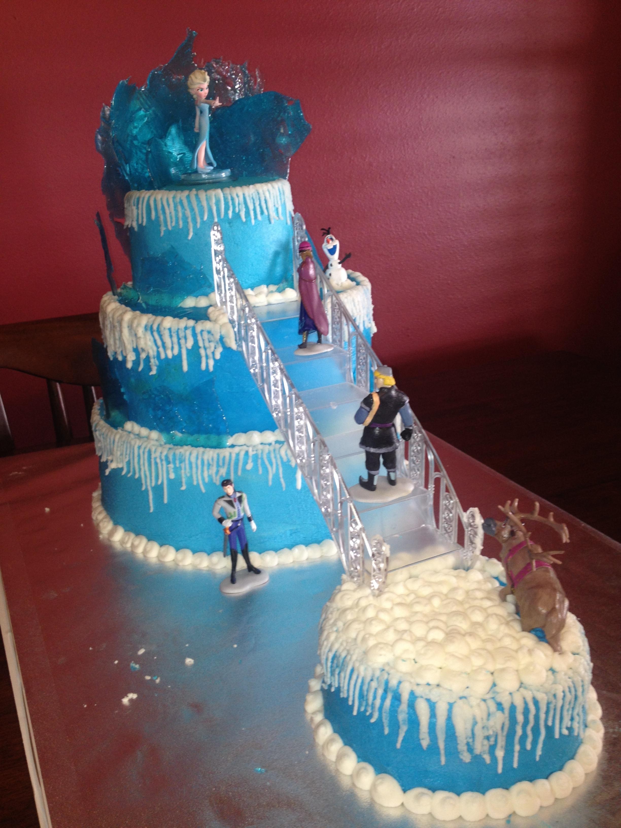 Happy Birthday Christmas Cake Cakecentral Com