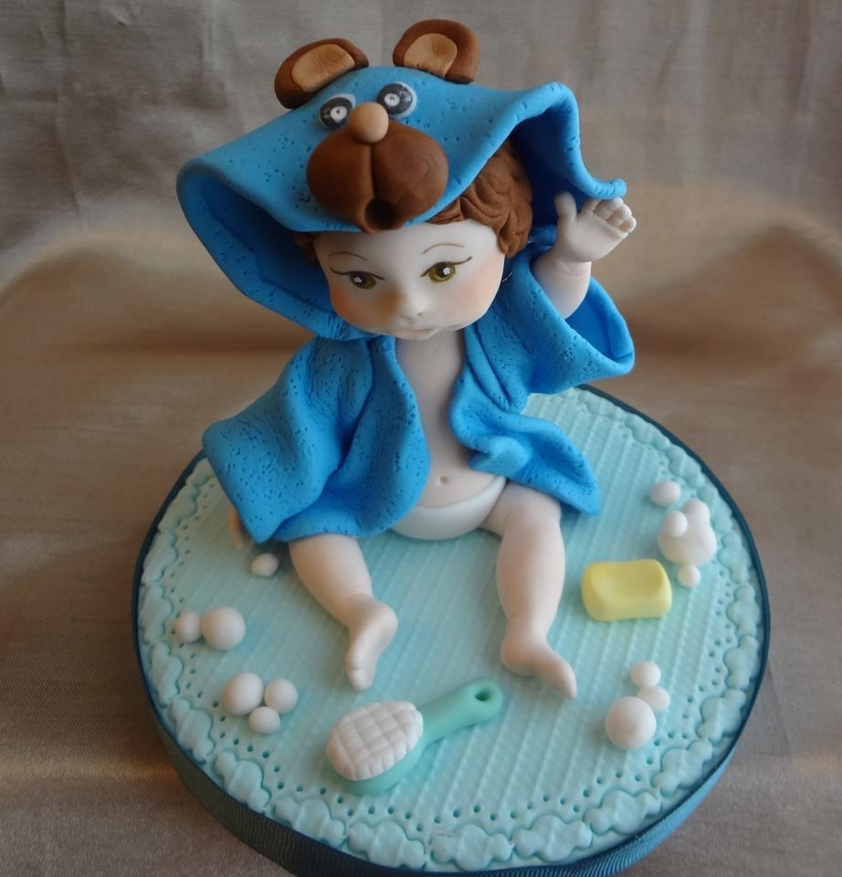Baby Shower Boy Cake Topper - CakeCentral.com