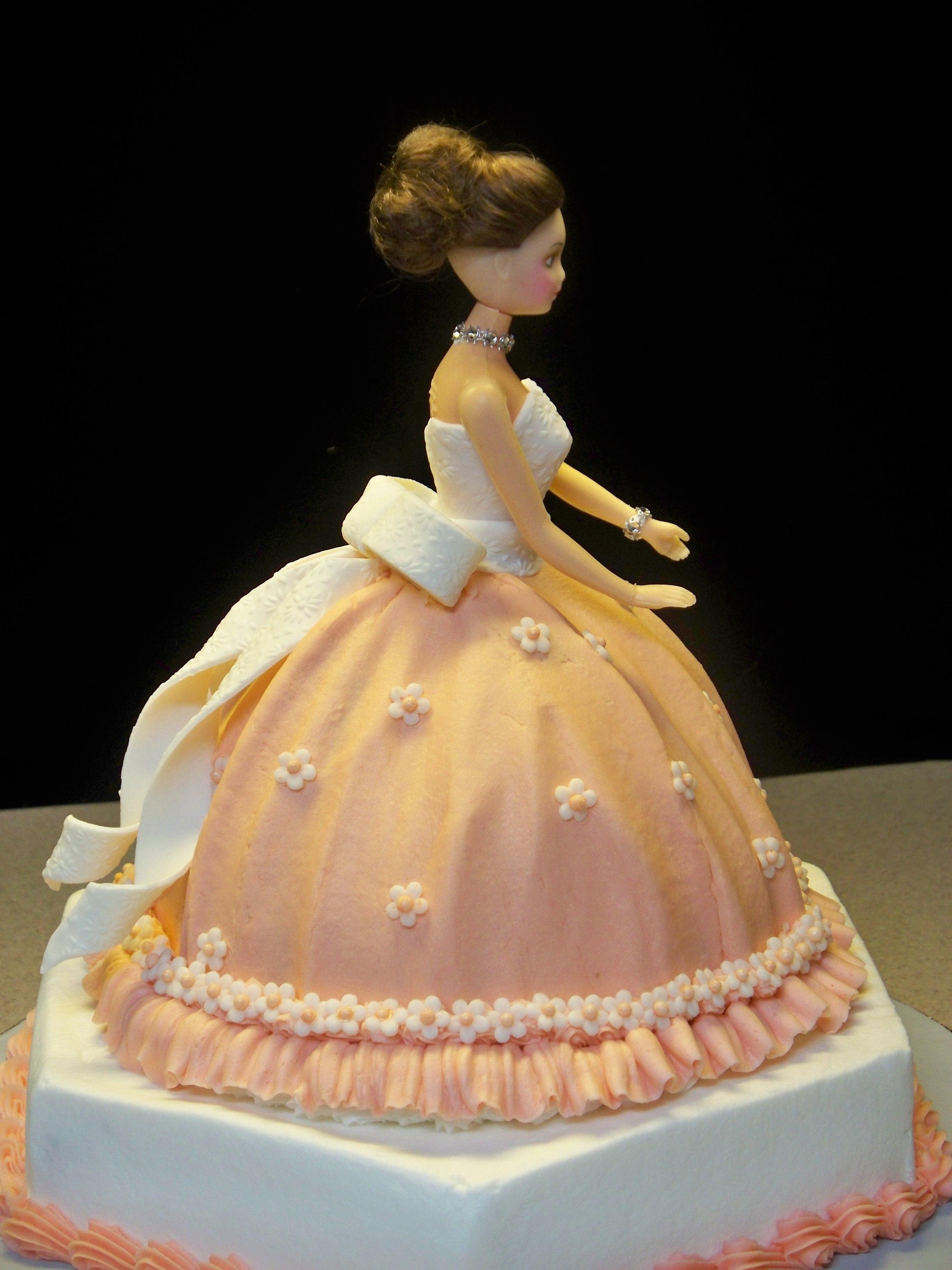 Doll Cake Images Download : Doll Cake - CakeCentral.com