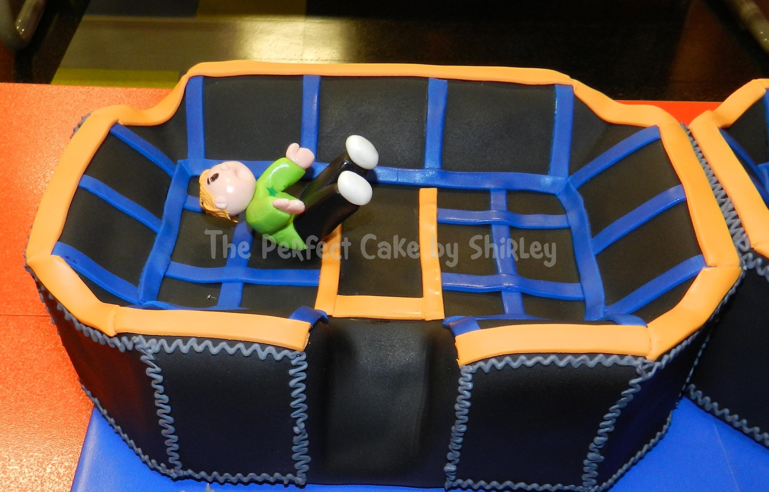 Sky Zone Trampoline Cake Cakecentral Com