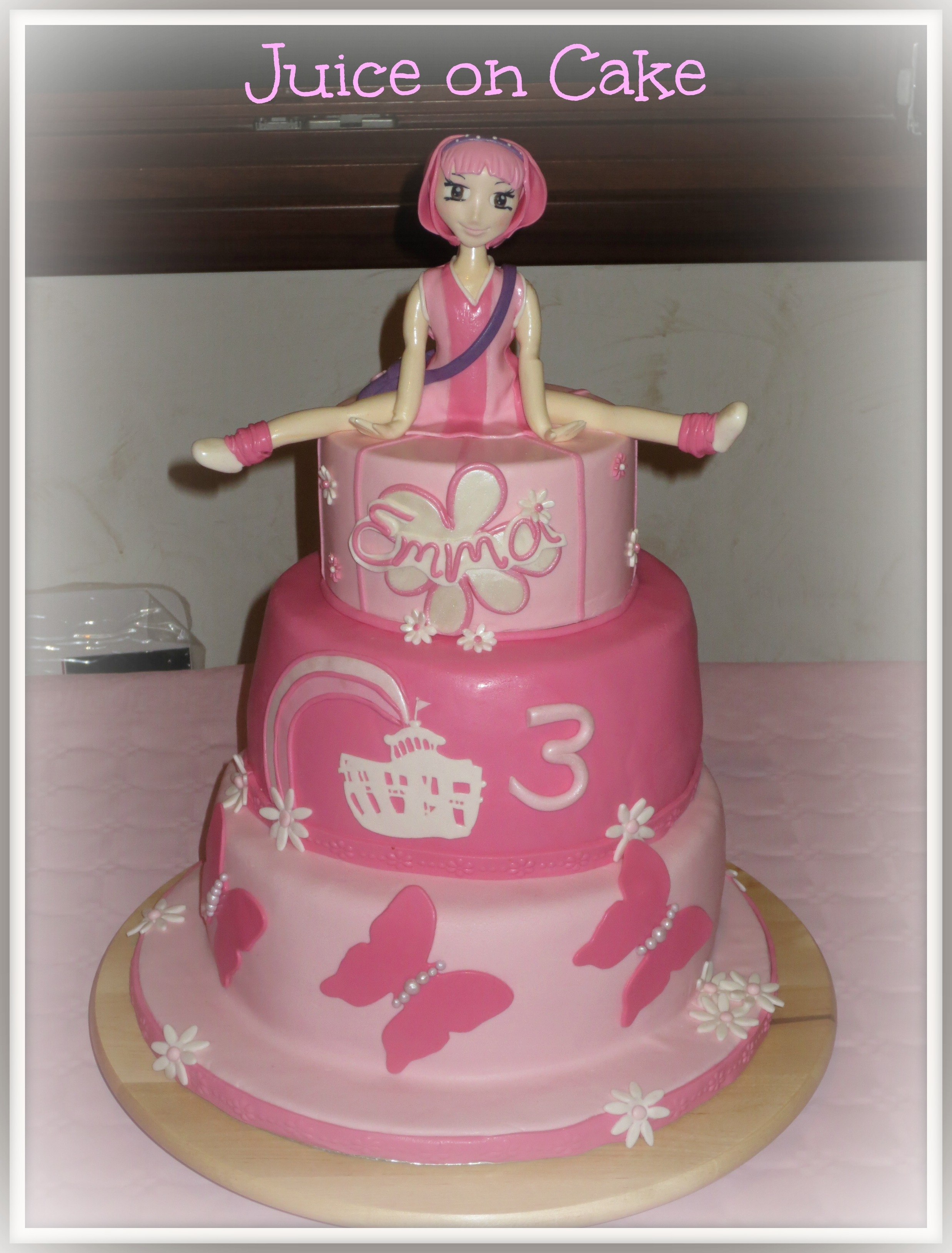 lazy town cake lazy town cake cakecentral 5437