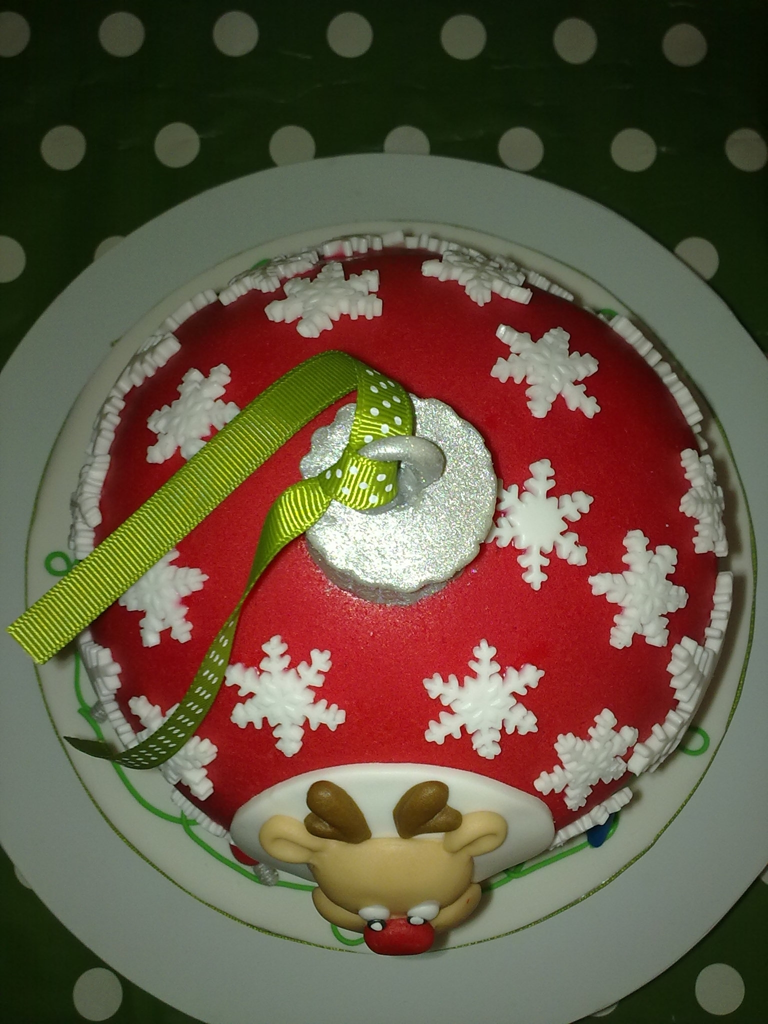 Christmas Tree Bauble Cakecentral Com