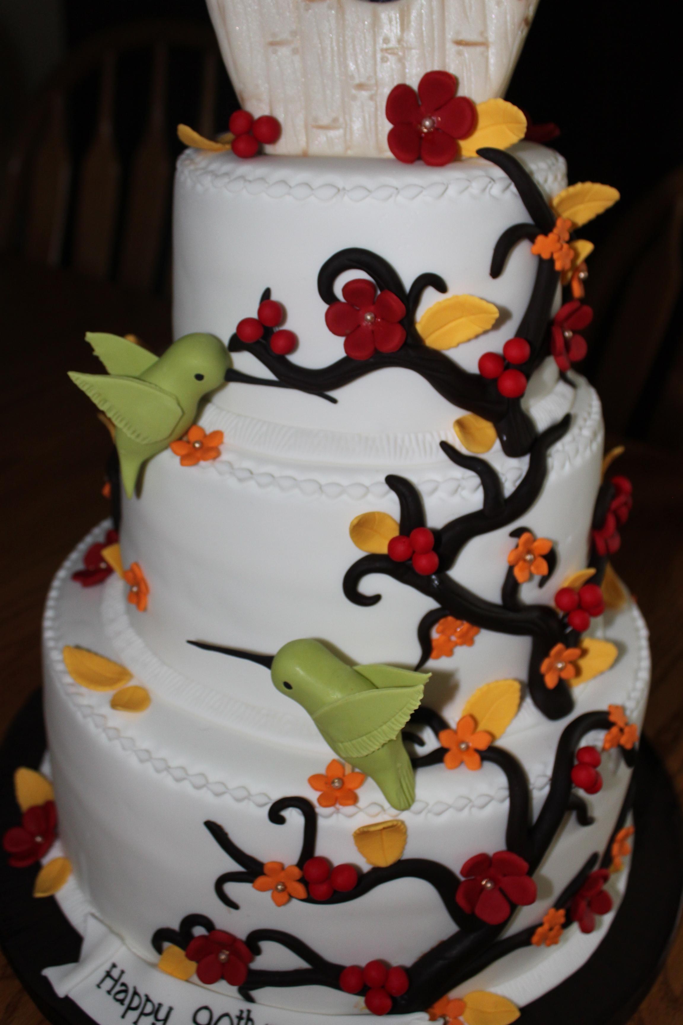 LC White Birthday Cake - recipe courtesy George Stella