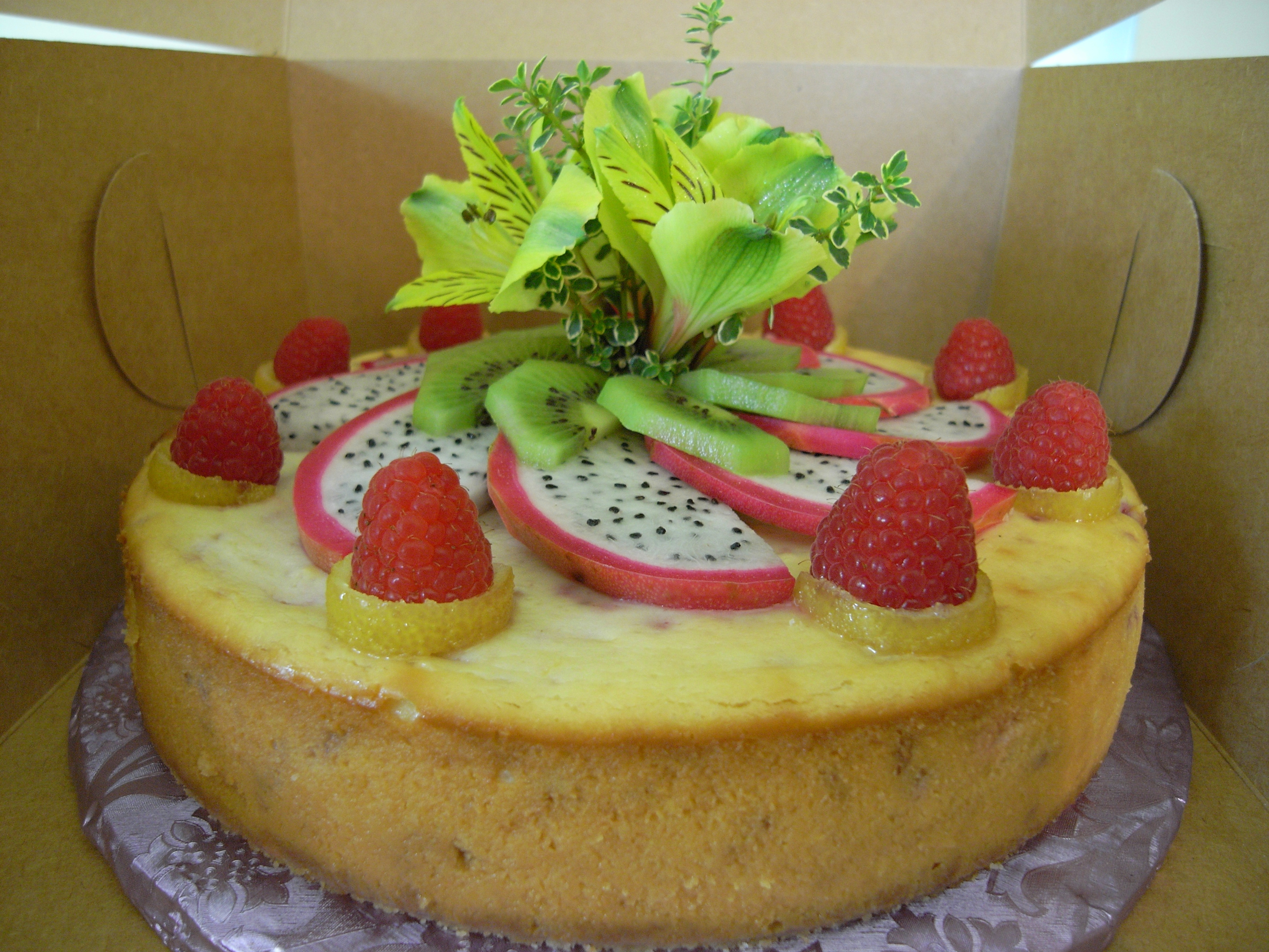 Tropical Cheesecake For A Summer Cookout Just Trying Some ...