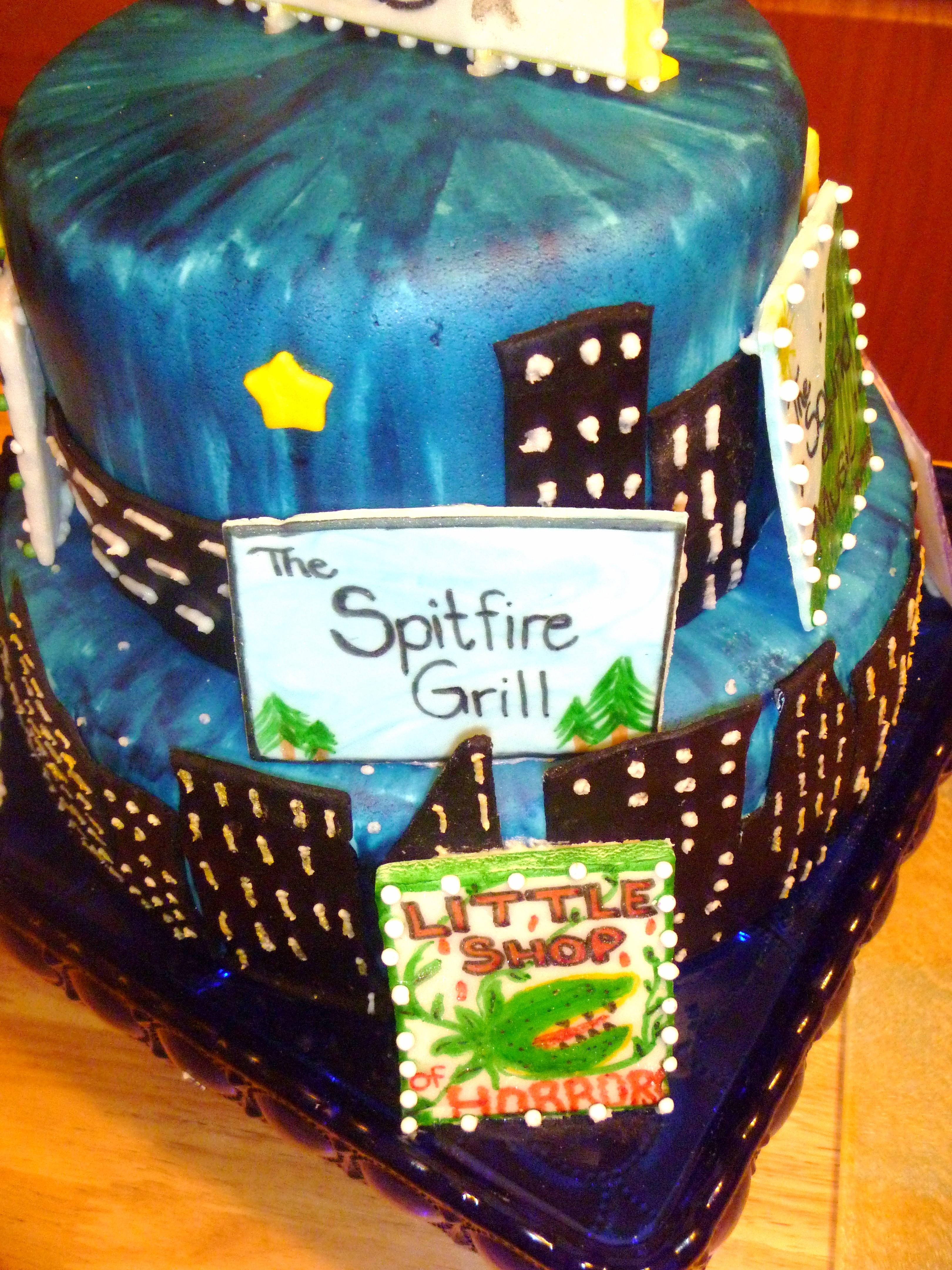 18Th Birthday, Drama, Broadway, New York - CakeCentral.com