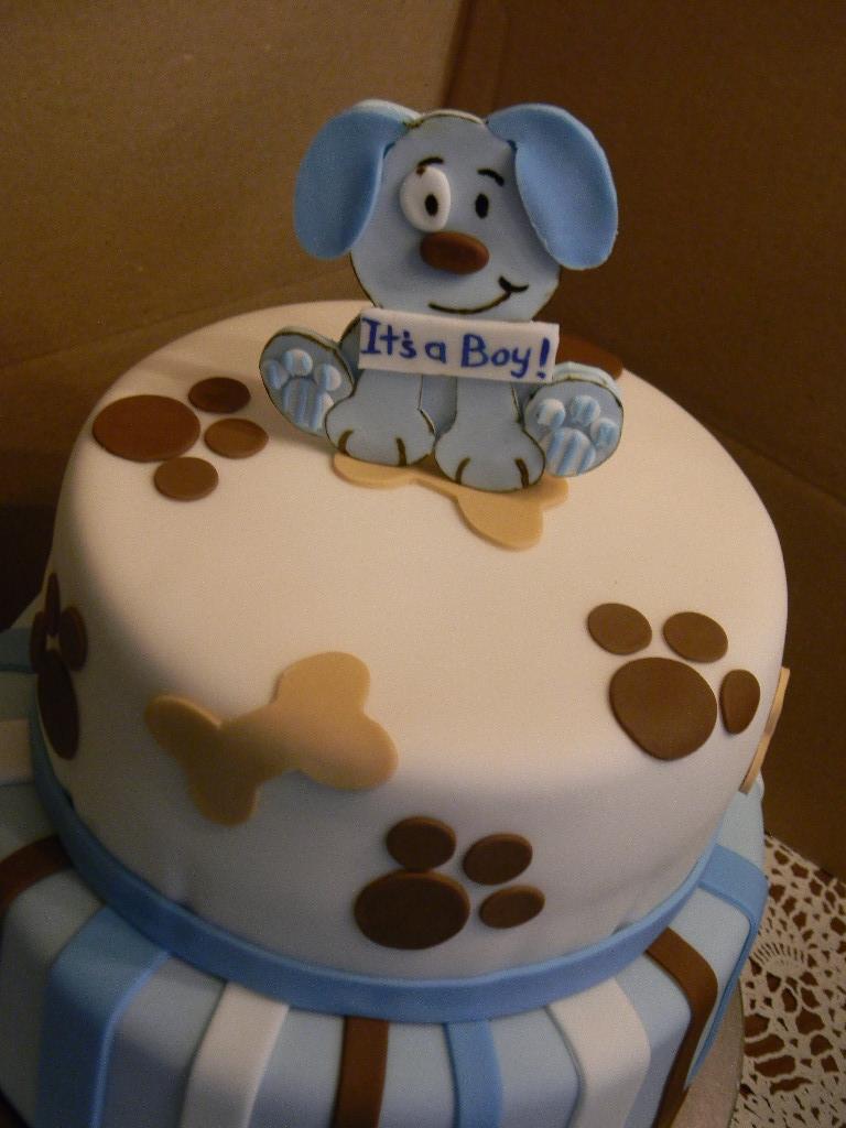 Puppy Theme Baby Shower