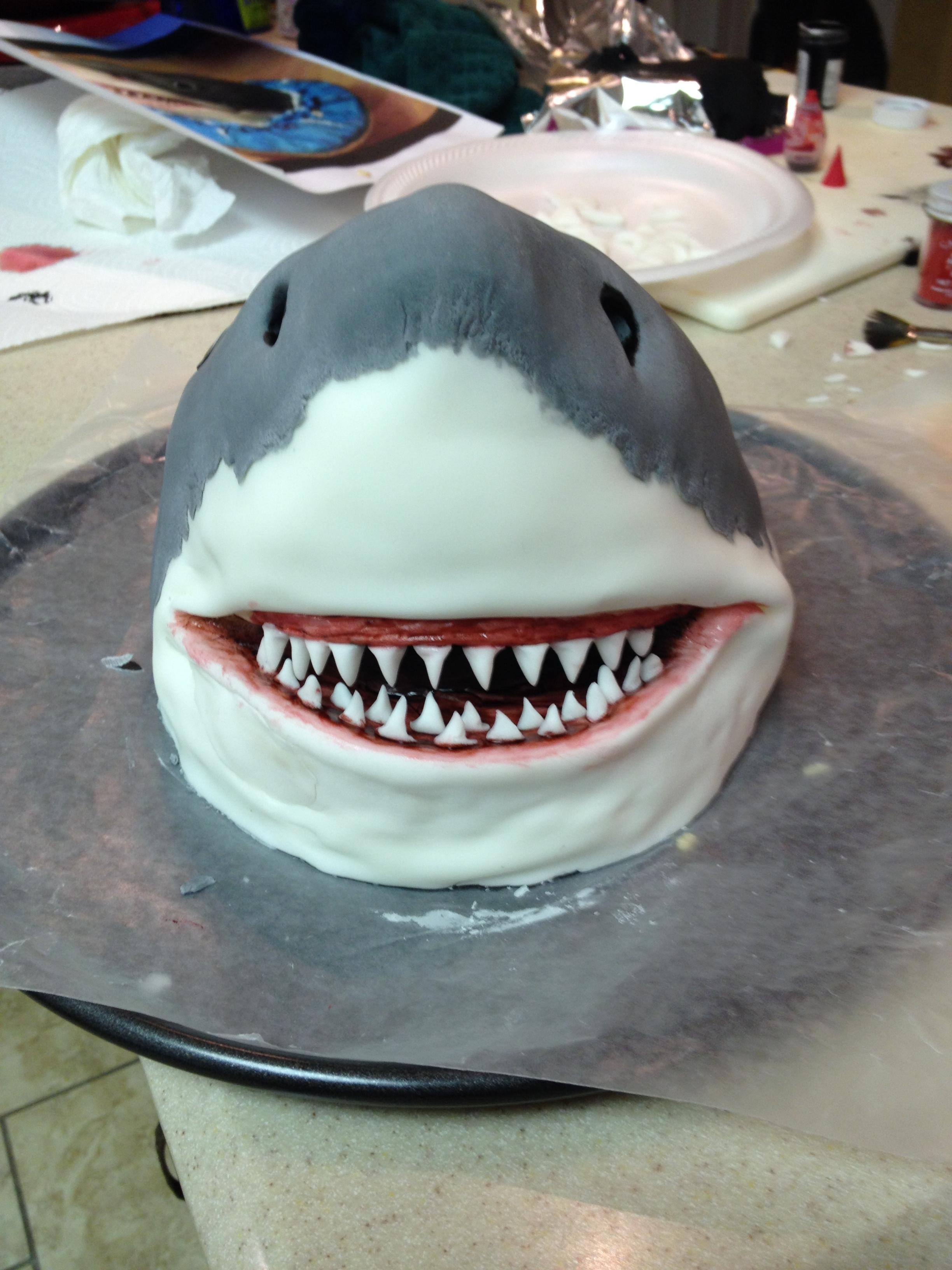Jaws Cake Cakecentral Com