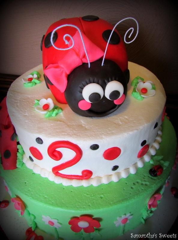 Ladybug St Birthday Cake Topper