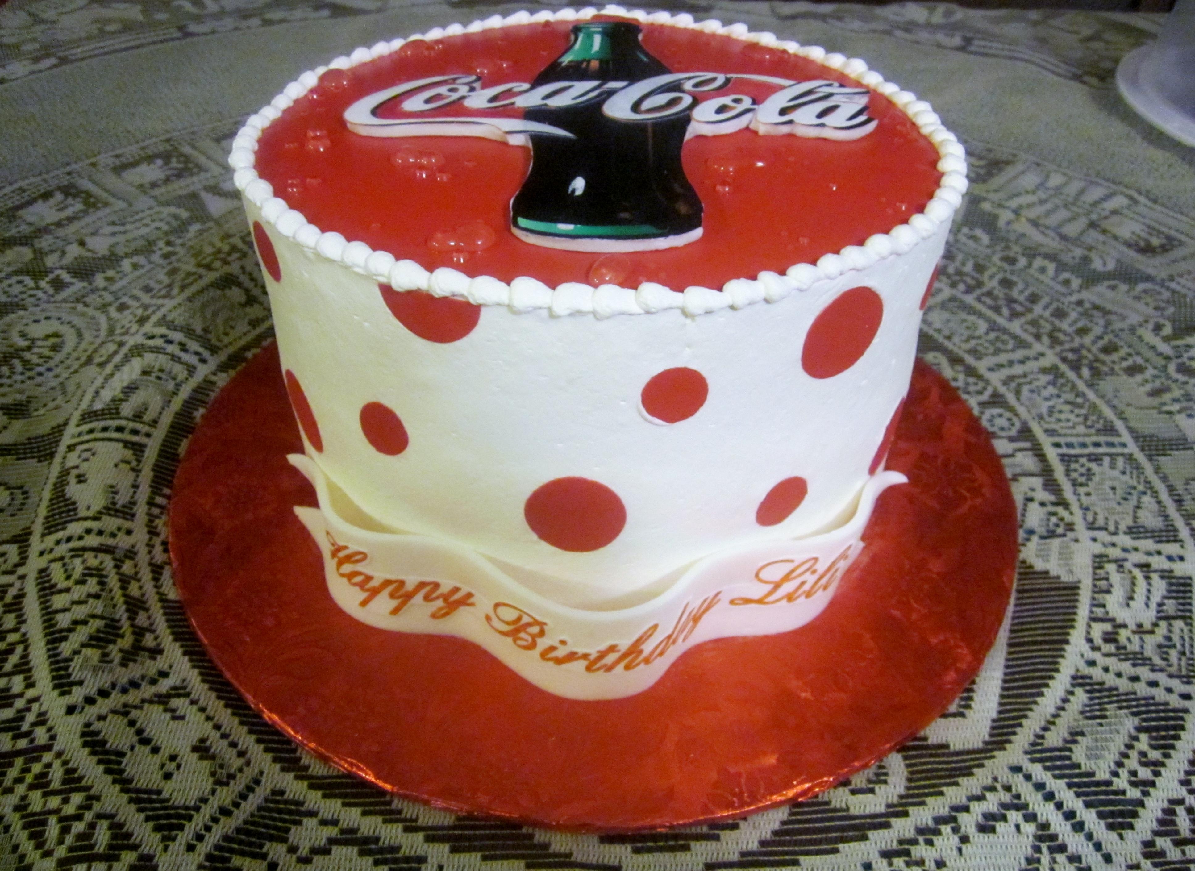Coca Cola Birthday Cake Recipe