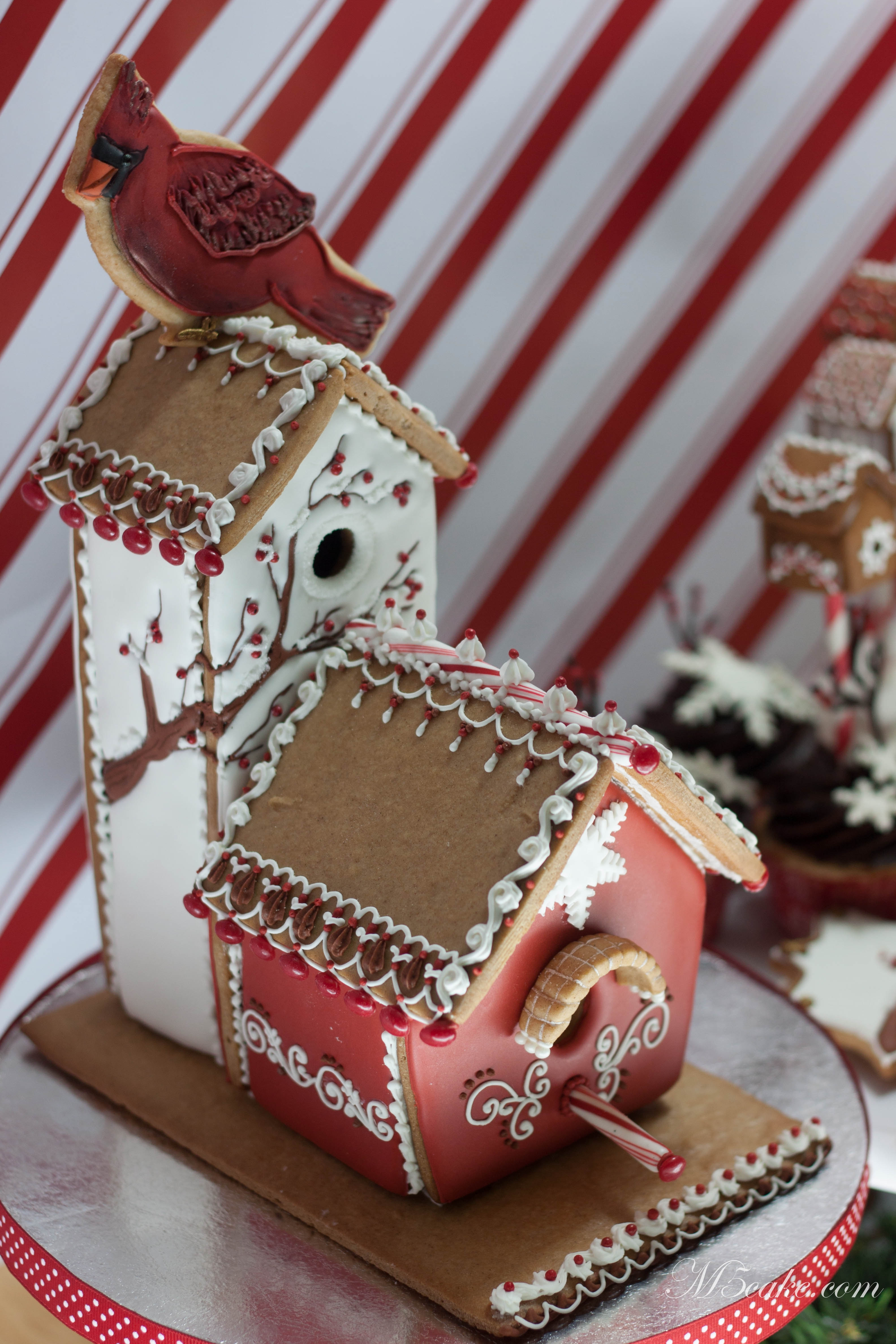 Gingerbread Houses In All Sizes Decorated With Royal Icing ...