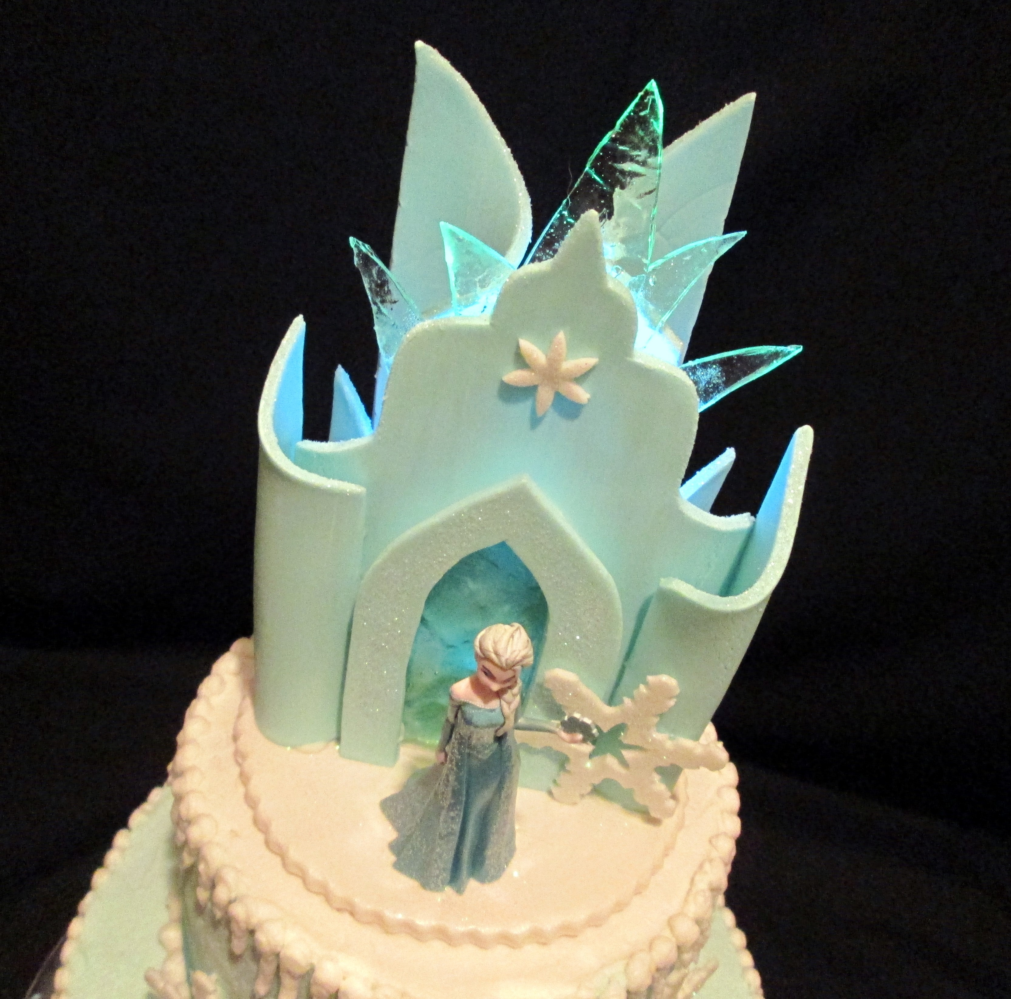 Frozen Castle Birthday Cake Images