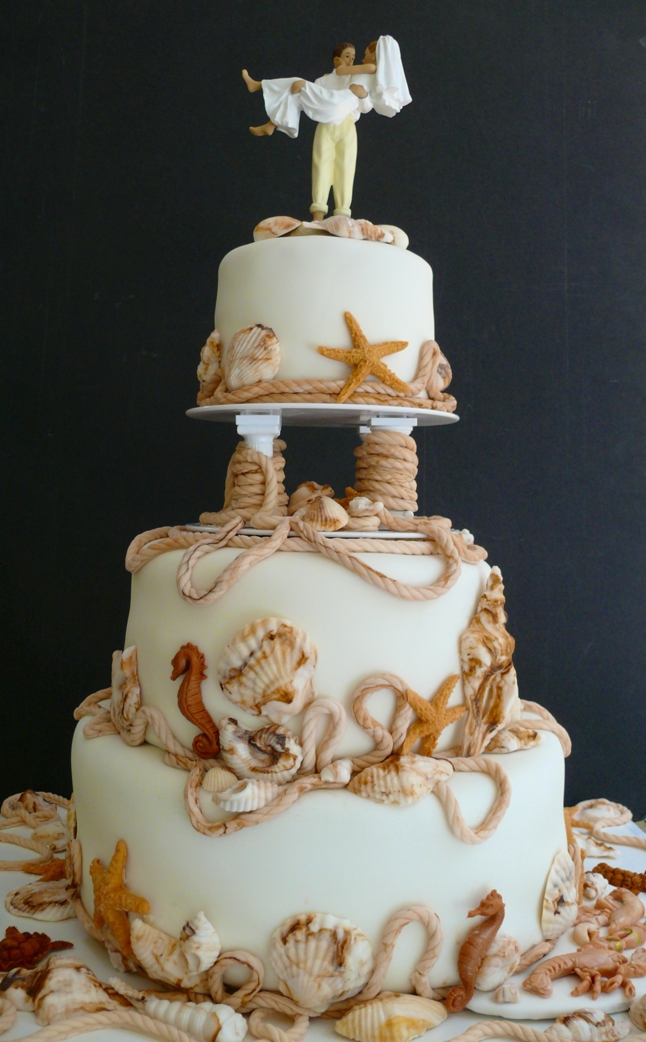 sea themed wedding cakes themed wedding cake cakecentral 19719