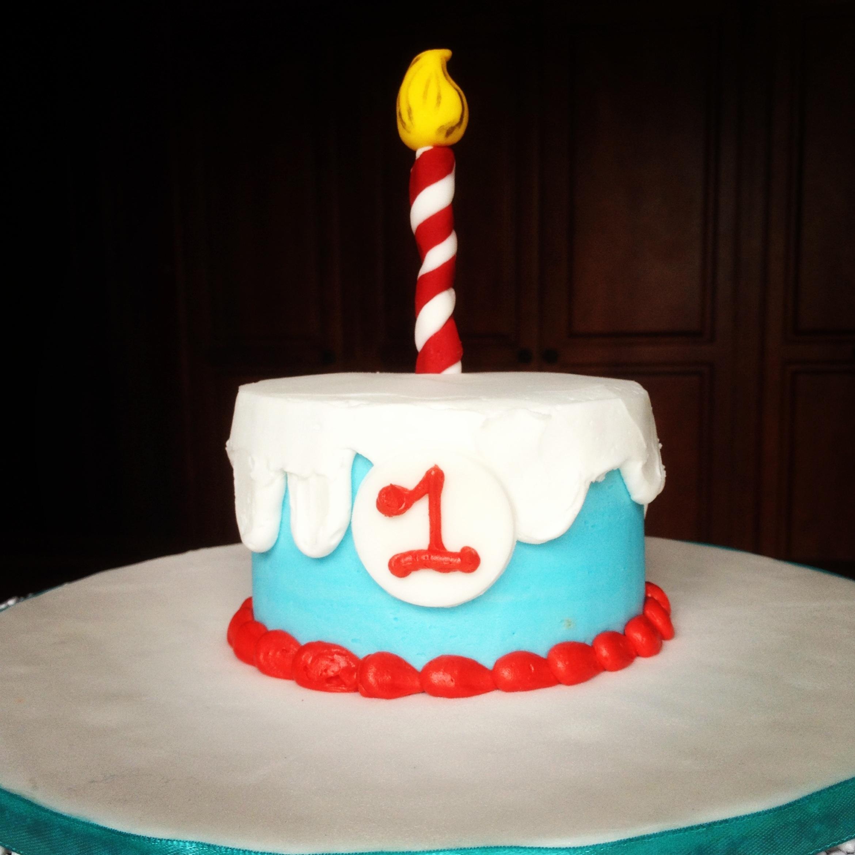 Dr Seuss 1st Birthday Cakecentral Com