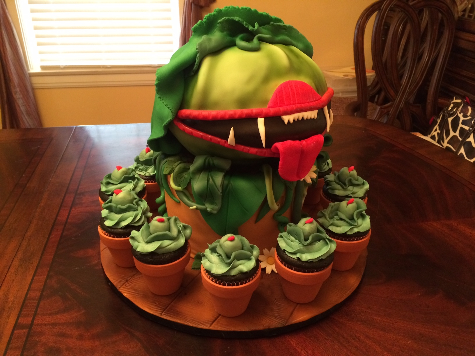 Little Shop Of Horrors - Audrey Ii - CakeCentral com