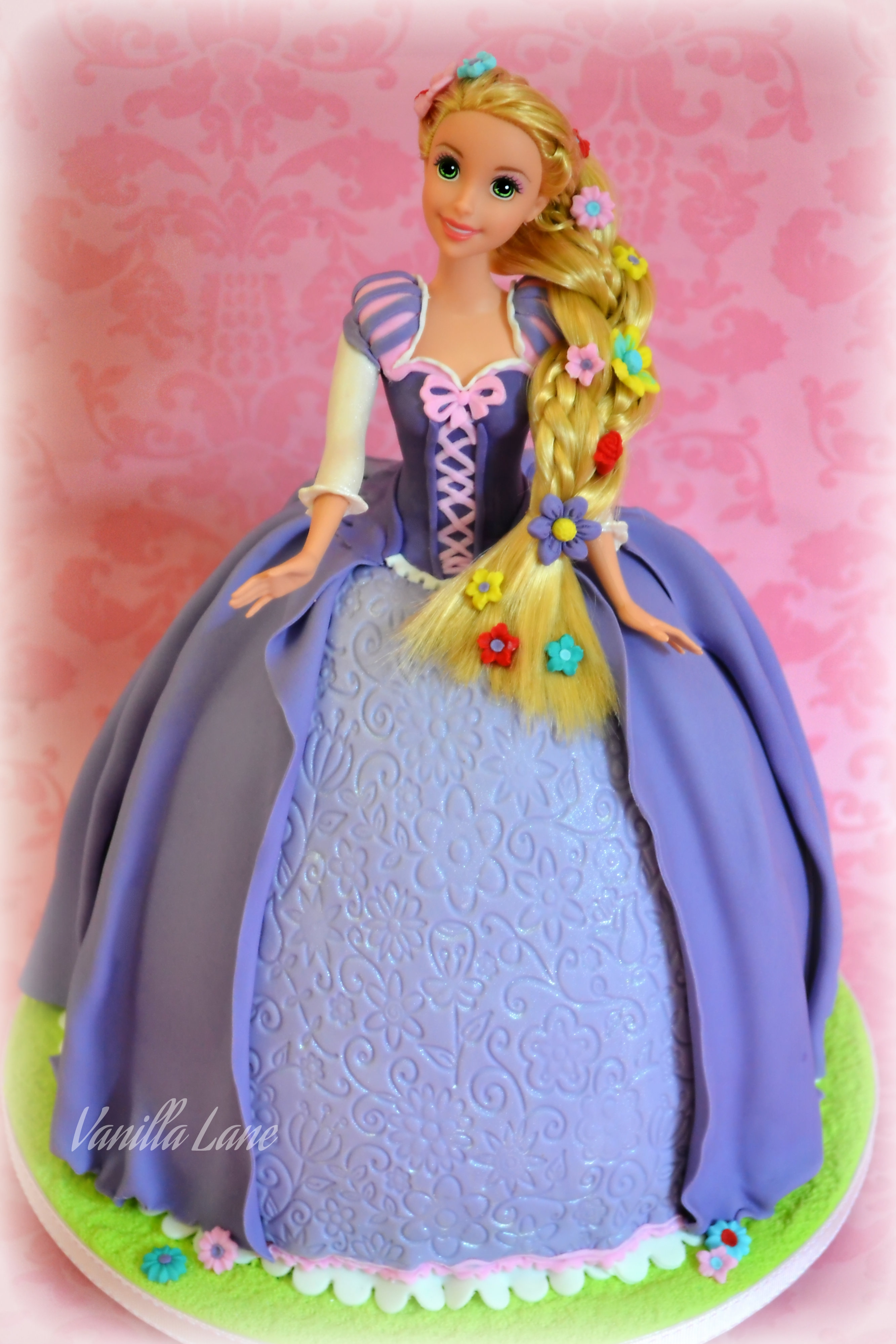 My Rapunzel Doll Cake I Am Delighted With How She Turned