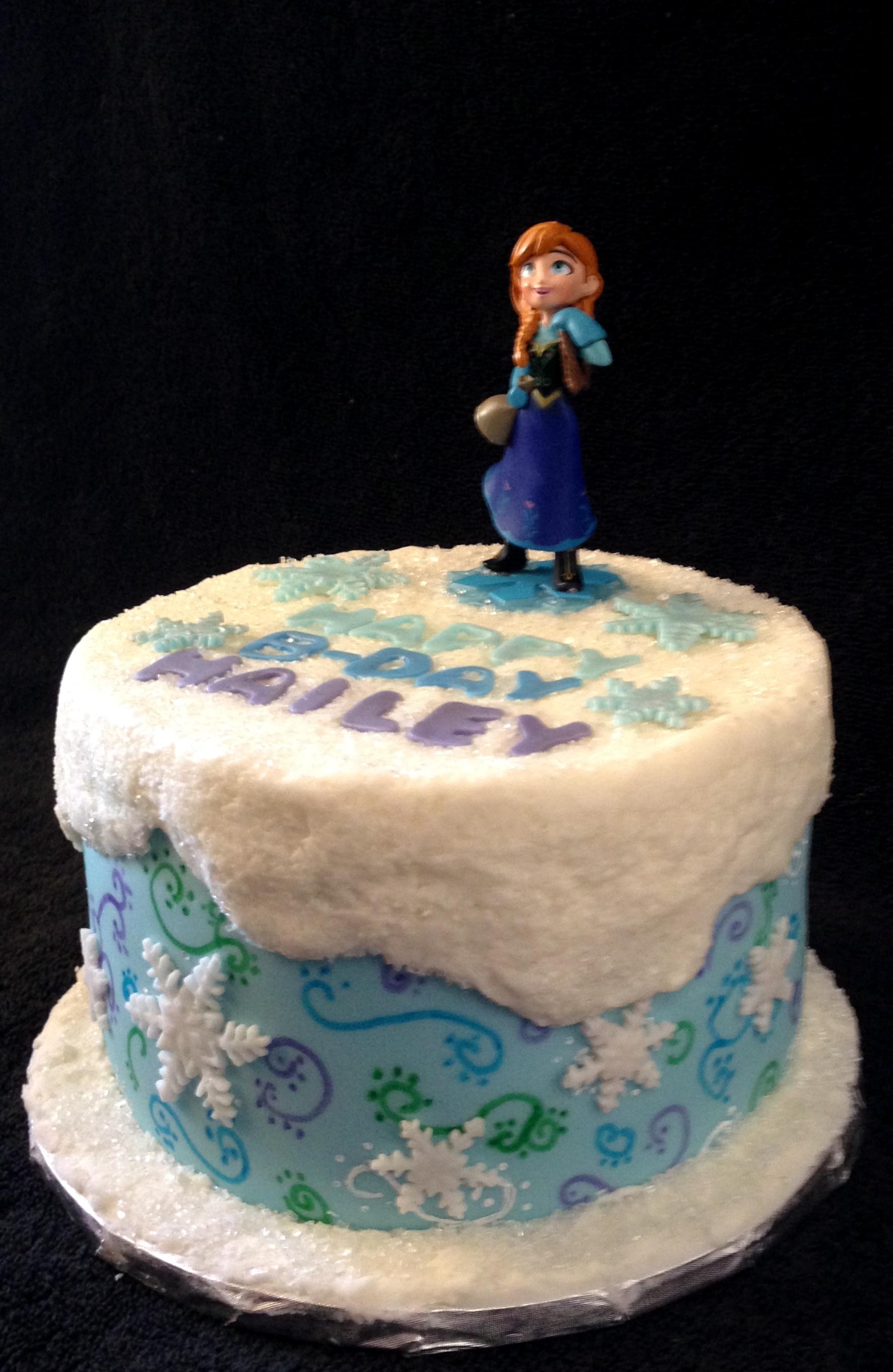 Cake Decorating Frozen Movie : Frozen Movie Theme Cake - CakeCentral.com