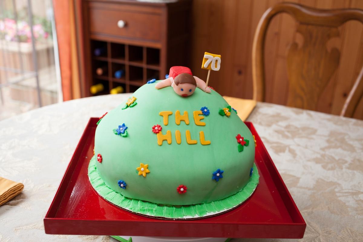 70 Birthday Cake Vanilla Cake With Vanilla Buttercream ...