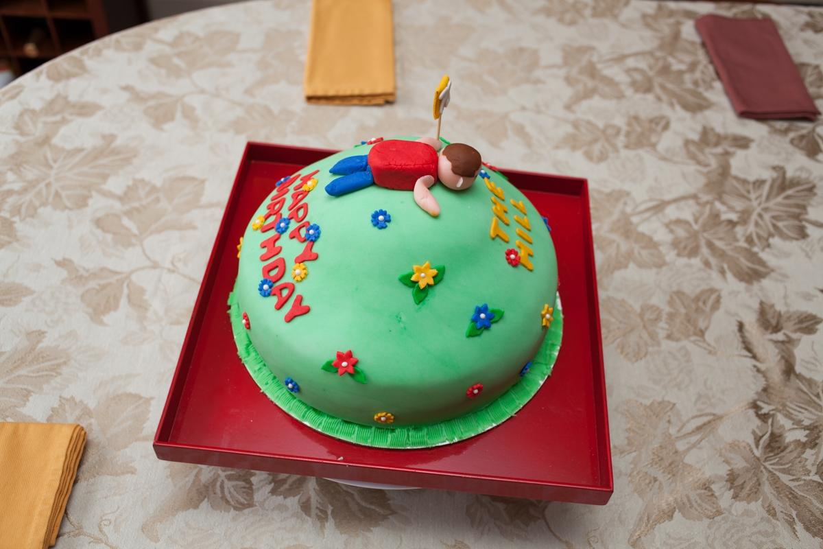 Vanilla Cake Decor : 70 Birthday Cake Vanilla Cake With Vanilla Buttercream ...