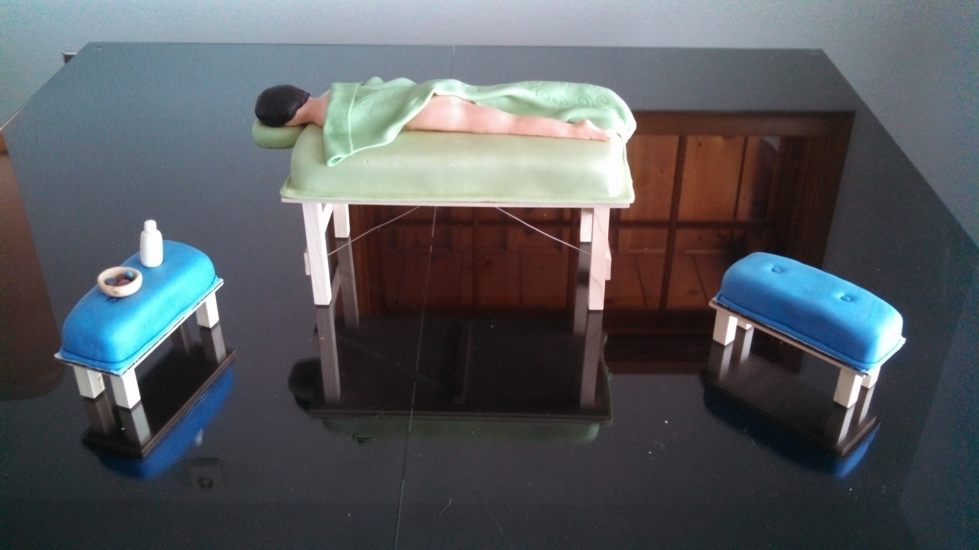 massage table cake cakecentral com