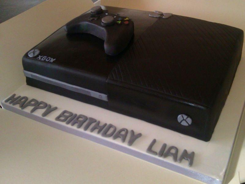 White Xbox One Cake