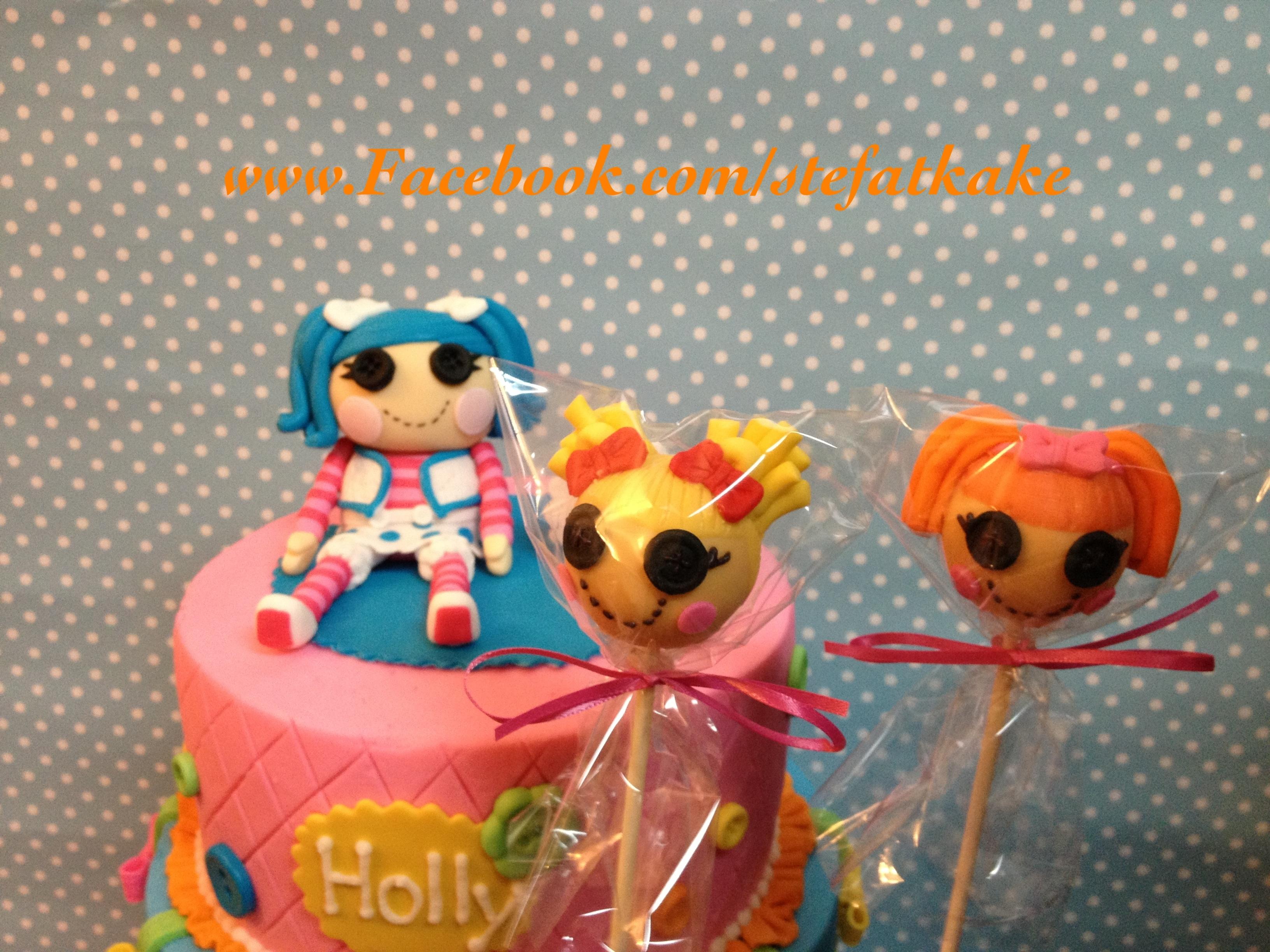 Lalaloopsy Cake Pops Tutorial