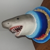 how to make a shark cake step by step