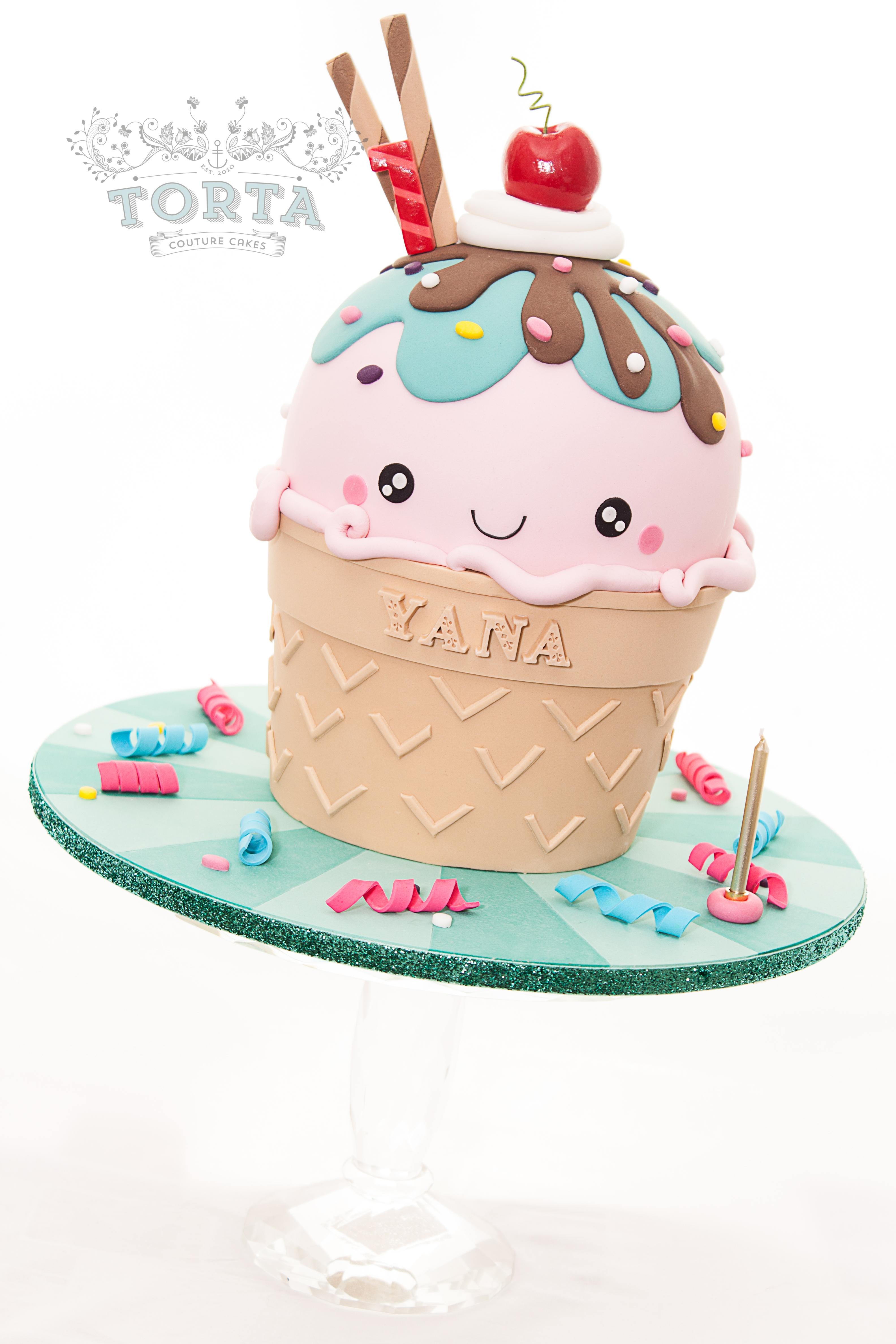 Best Icecream Cake Anime