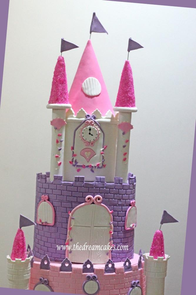4 Feet Tall Grand Princess Castle Cake Cakecentral Com