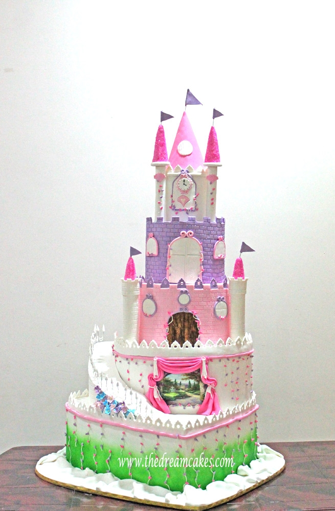 4 Feet Tall Grand Princess Castle Cake Cakecentral Com