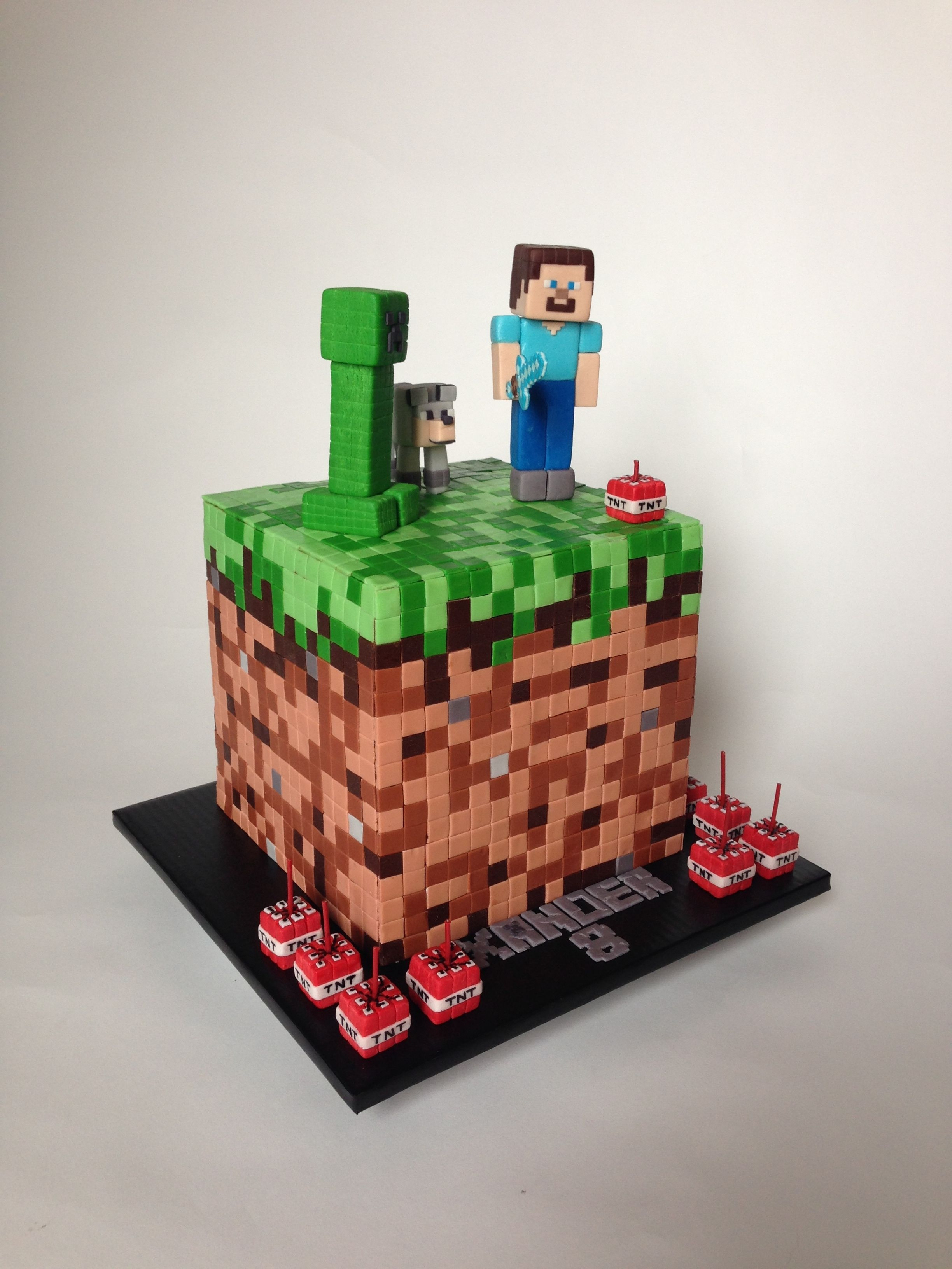 Pictures Of Minecraft Cakes In Minecraft