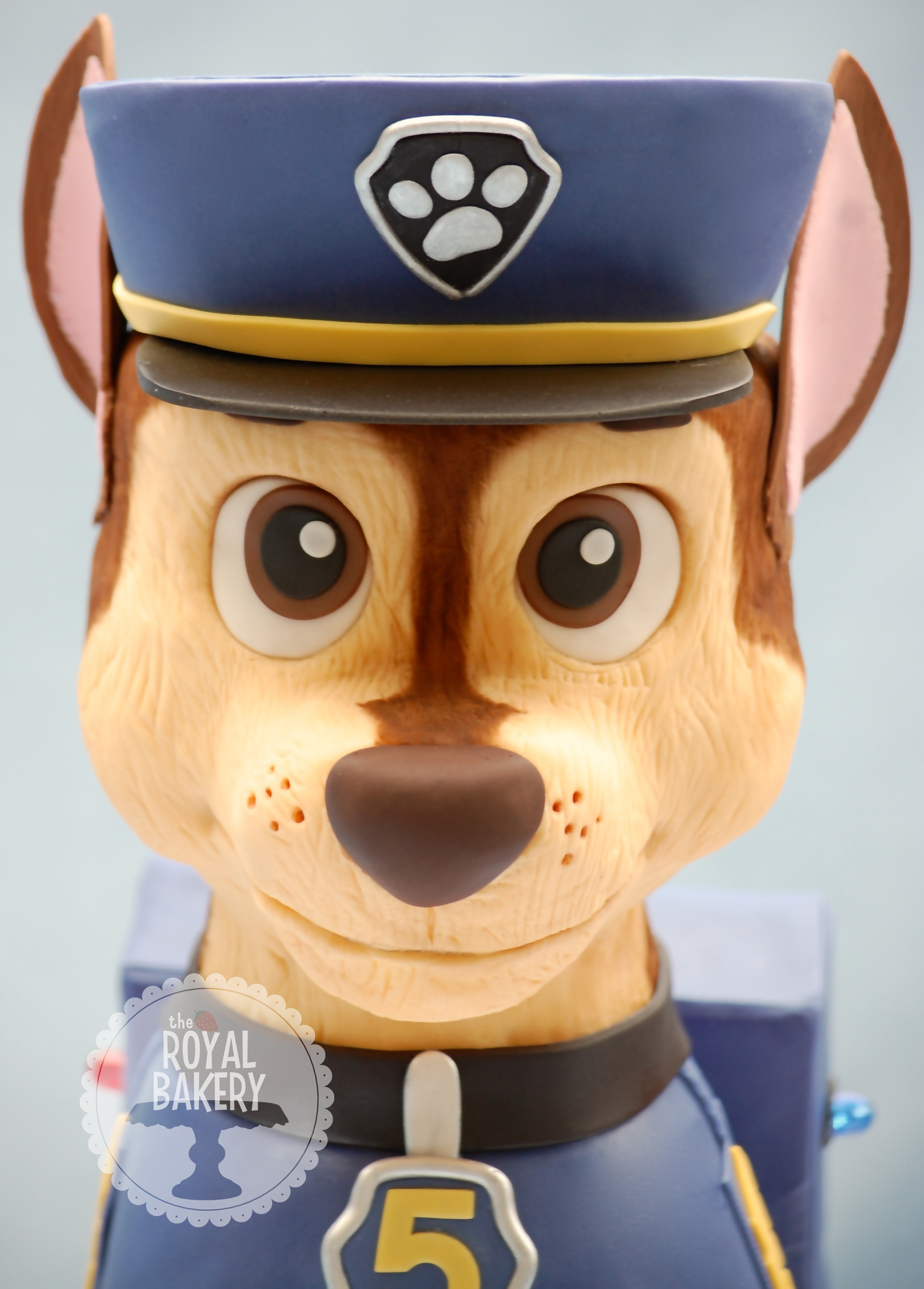 Paw Patrol Chase Dog Cake Cakecentral Com
