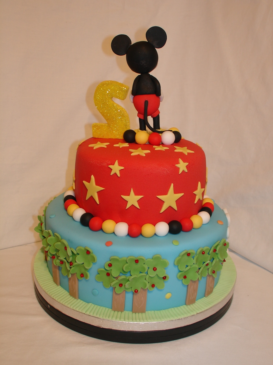 Mickey Mouse Clubhouse Fondant Cake Cakecentral Com