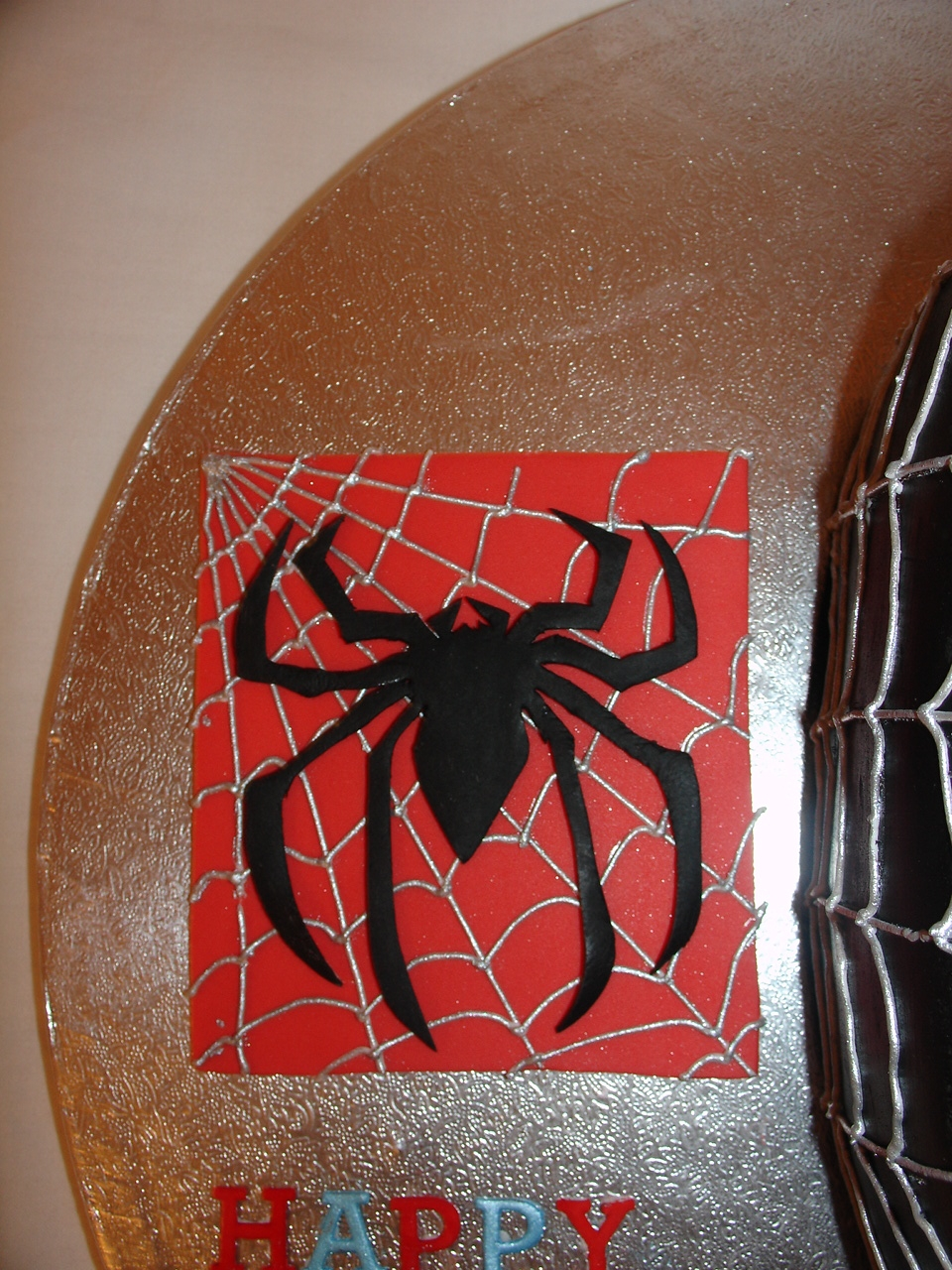 Black spiderman cakes - photo#53