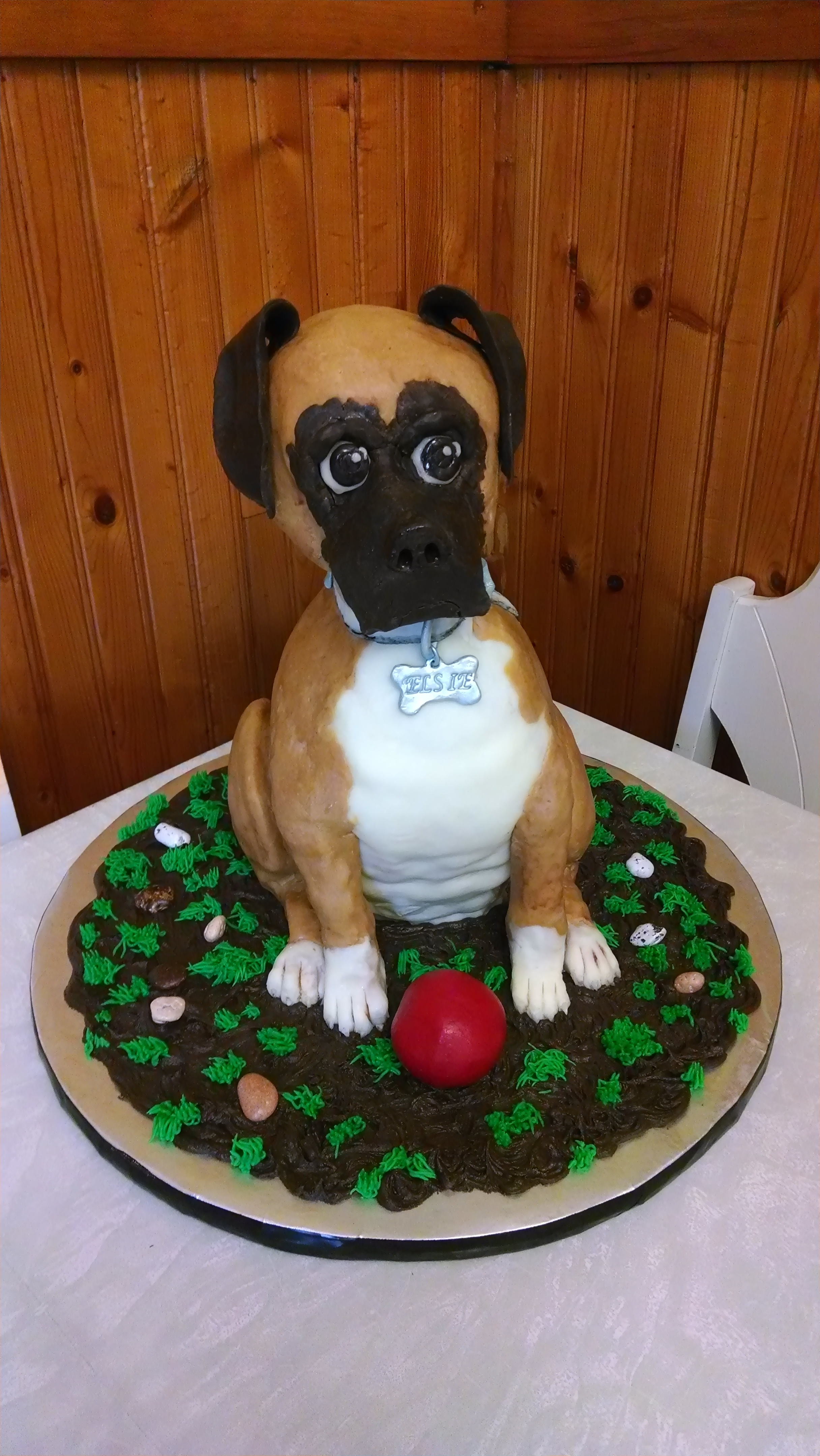 Birthday Cake For Boxer Dogs