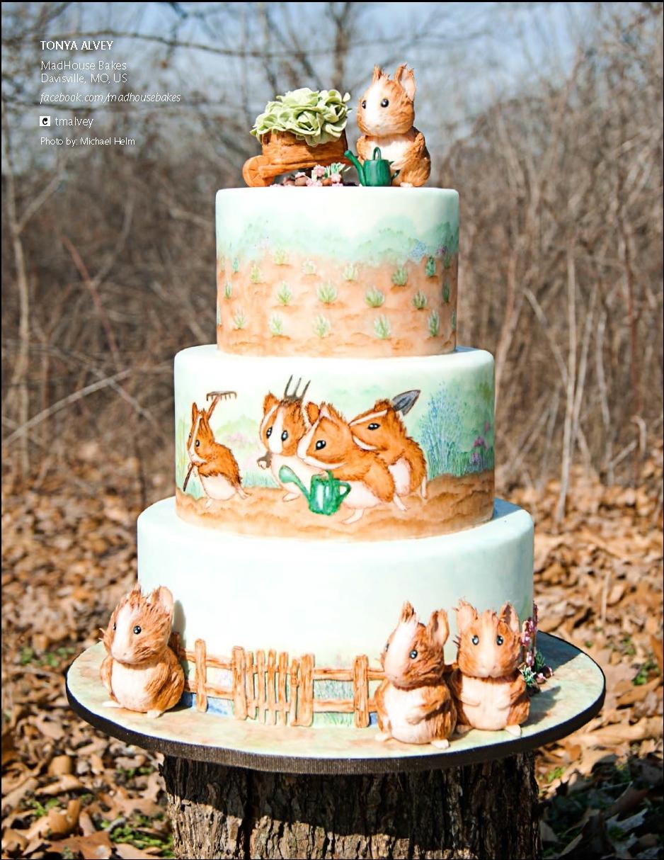 хорошие парни торт с хомяками фото растение