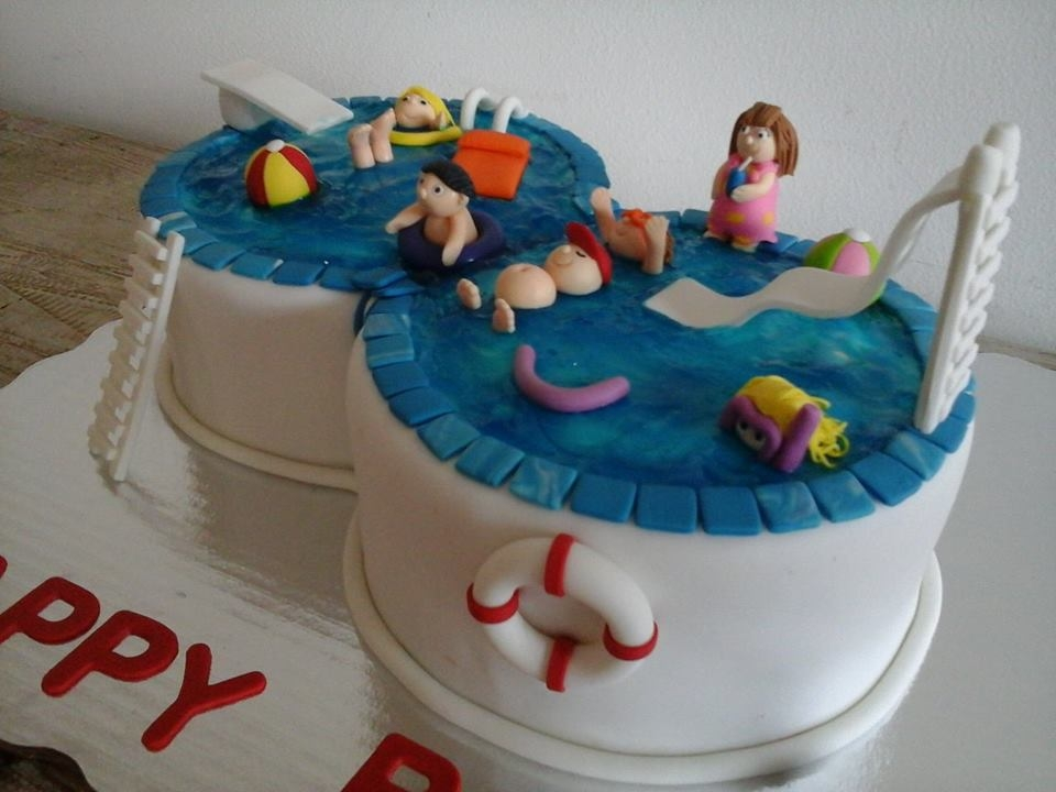 Pool B Day Cake Cakecentral Com