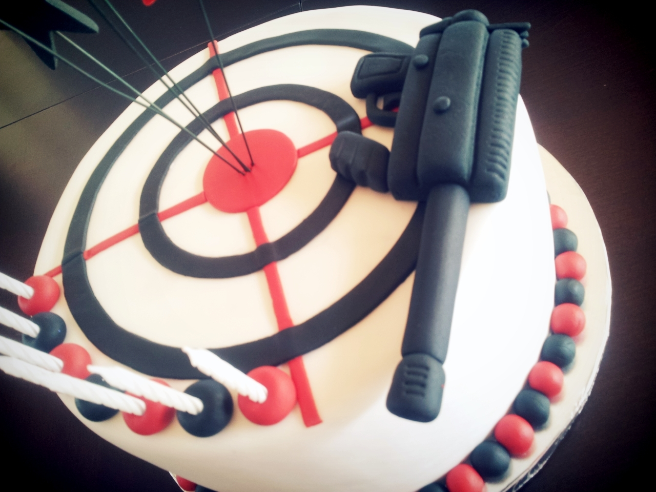 Target Themed Birthday Cakes