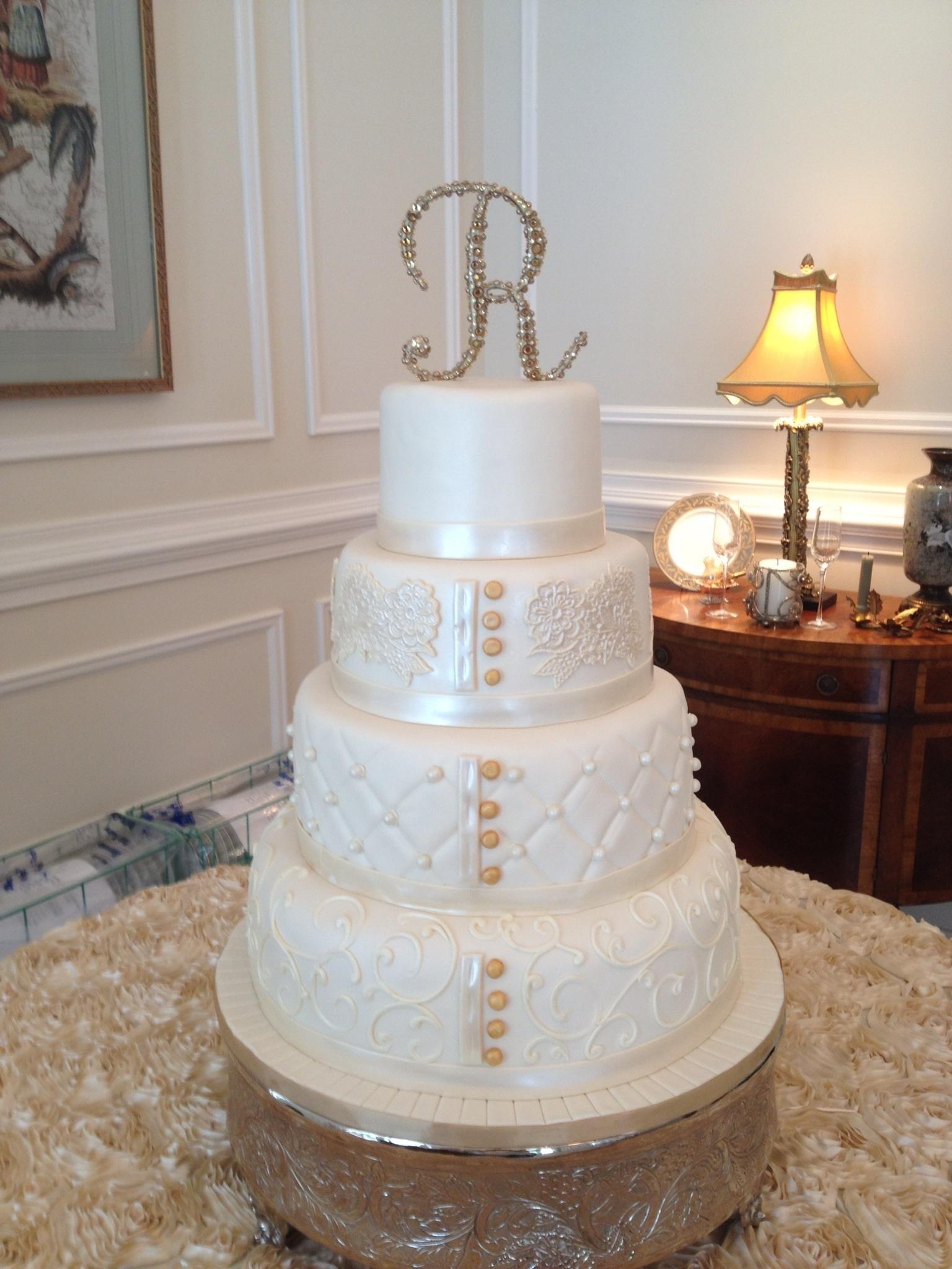 Pillow Wedding Cake Cakecentral Com