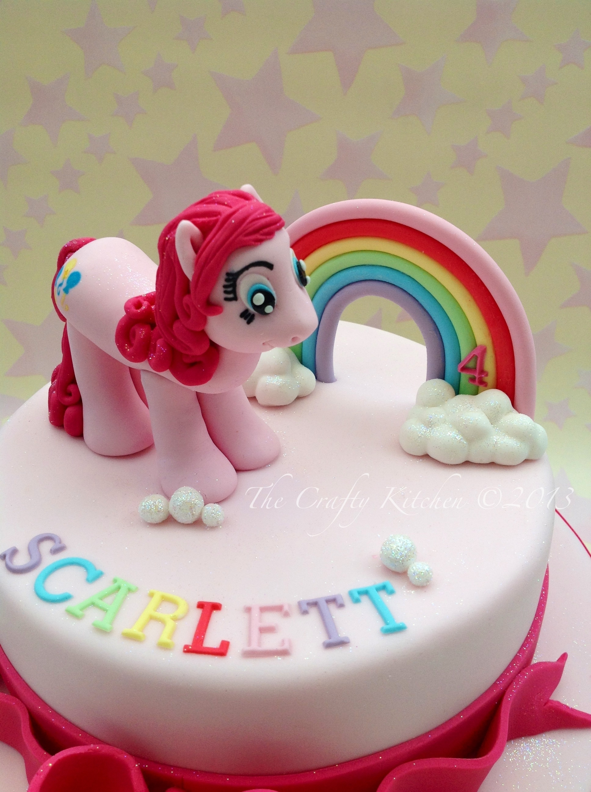 Pinkie Pie Cake Ideas