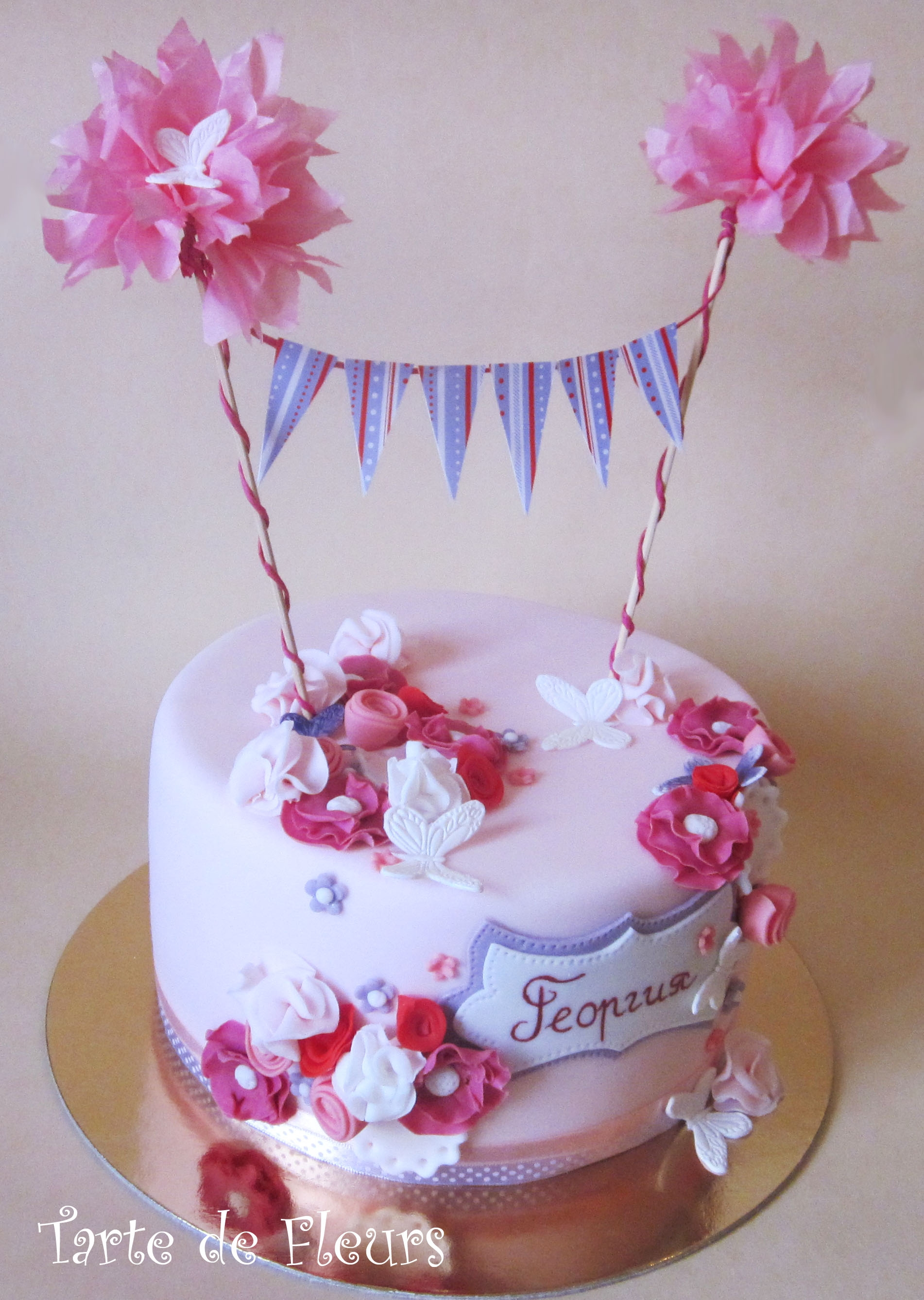 First B Day Cake Cakecentral Com
