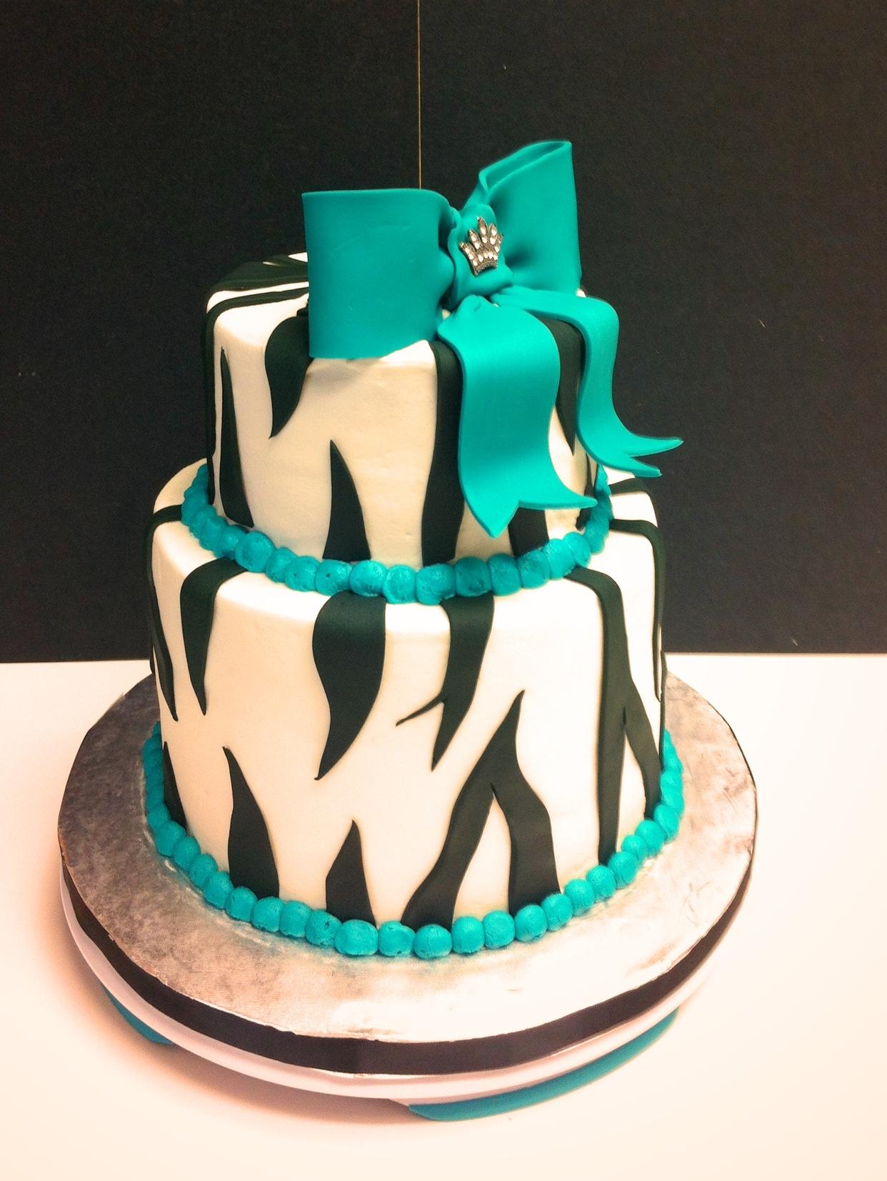 Blinged Birthday Cake