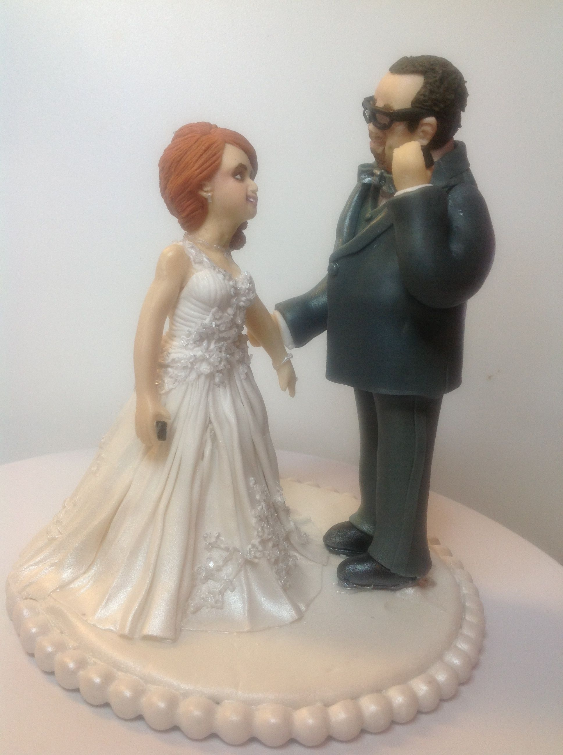 Wedding Cake Topper 100 Edible Figurines Are Made Fondant