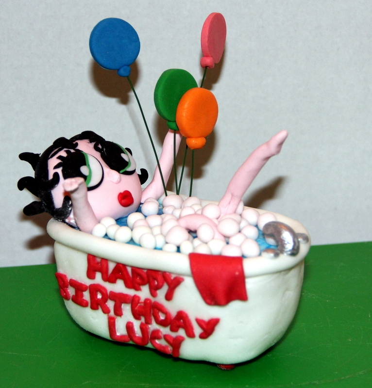 Betty Boop Cake Topper - CakeCentral.com