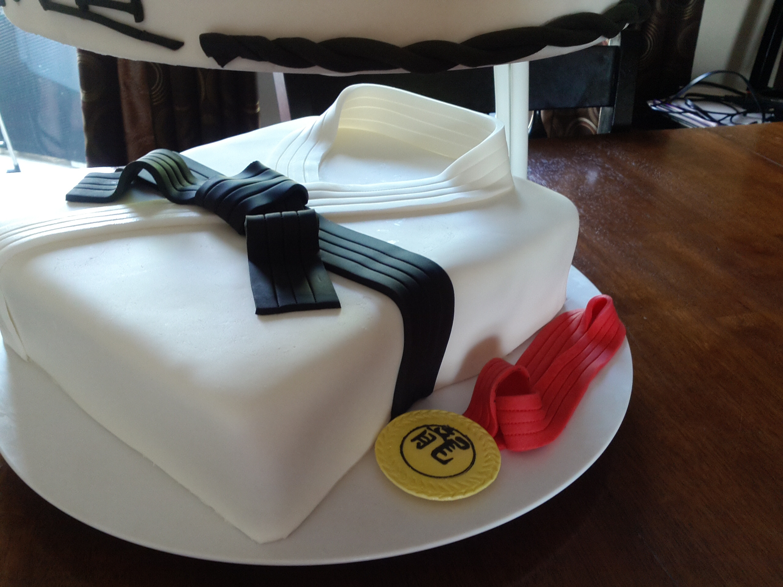Dragons Judo Club Cake Cakecentral Com